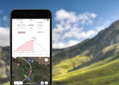King's Peak progress tracker