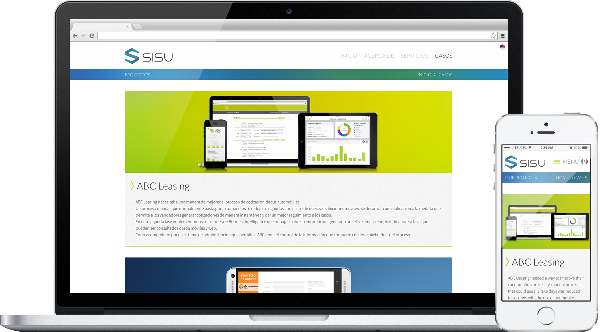 Sisu Responsive Website